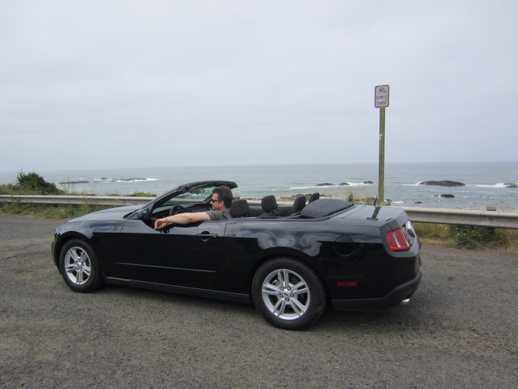 Nick Tann Ford Mustang Convertible